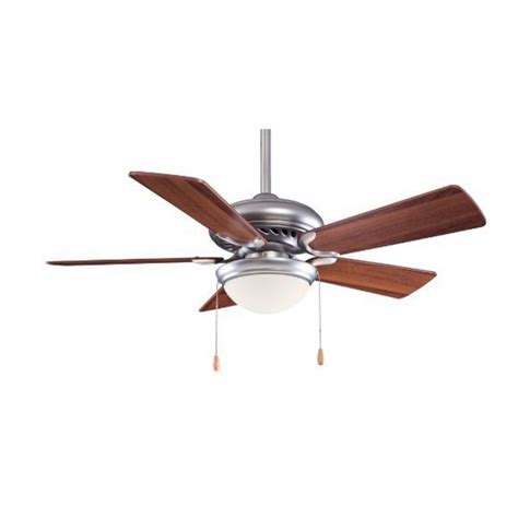 44 Inch Ceiling Fan With Light 44 Inch Ceiling Fan With Five Blades And Light Kit F563 Sp Bs Dw Destination Lighting