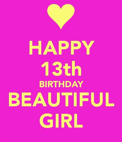 Happy 6 Birthday Quotes 25 Best Ideas About 13th Birthday Wishes On Pinterest