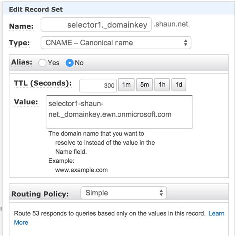 Office 365 Mail Dns Records Dkim Signing In Office 365