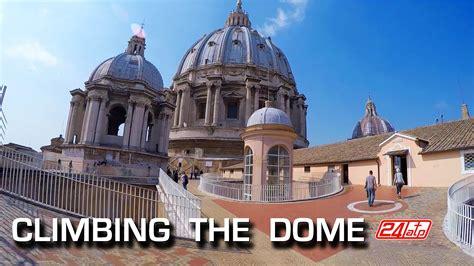 cupola dome rome climbing the dome st s basilica roma salita