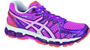 Structured Cushioning Asics Kayano 20 Womens Running Shoe Outfield Sports