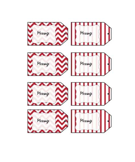 44 Free Printable Gift Tag Templates ᐅ Template Lab Gift Tags Templates