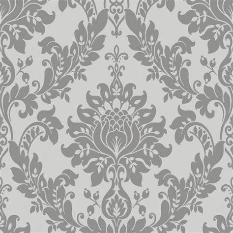 designer grey wallpaper uk designer interiors clara wallpaper dark grey 35391