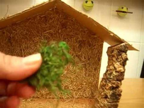 como hacer las piezas del pesebre en material reciclable como hacer portal de belen con carton muy facil youtube