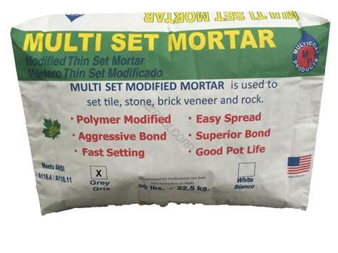 Multi Mortar pool360 50 gry medium multi set thinset mortar
