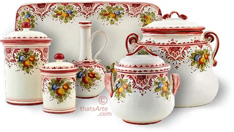 italian style kitchen canisters tuscan style canisters handcrafted tuscan canisters