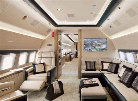 beautiful private jets interior designs