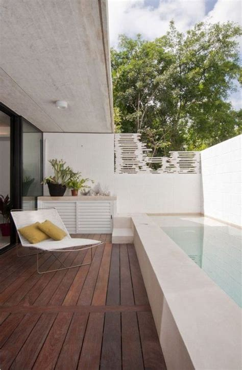 Livingroom Sofa minimalist swimming pool for small backyard