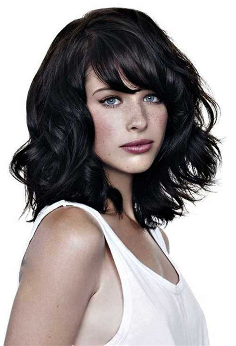 Medium Hairstyles With Bangs 2016 by 25 Hairstyles With Bangs 2015 2016 Hairstyles