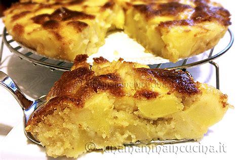 torta al cioccolato bagnata torta di mele leggera con tantissime mele