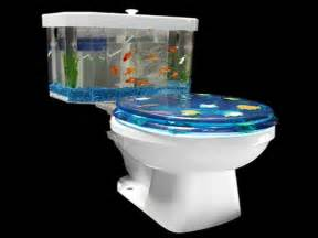 home accessories fish tank decor ideas with toilet
