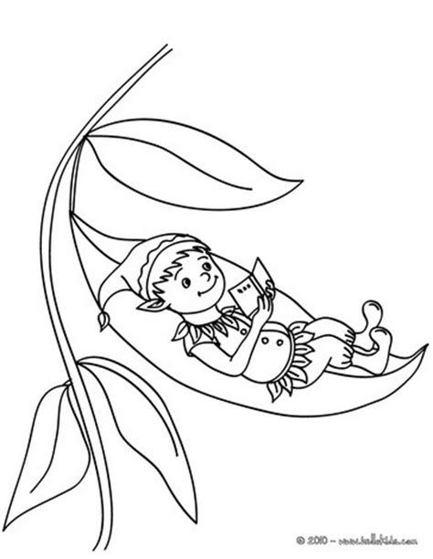 elf ears coloring pages elf reading coloring pages hellokids com