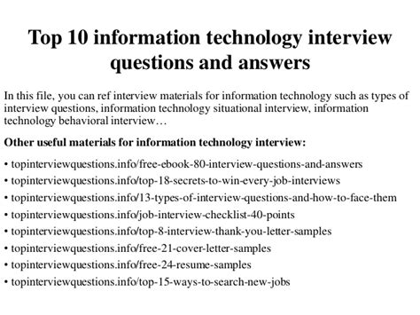 and for more information about the interview with nollywood superstar top 10 information technology interview questions and answers