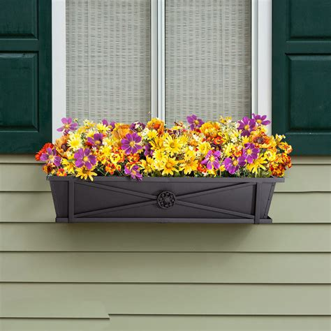 window box hooks black flower planter boxes window box hooks and lattice