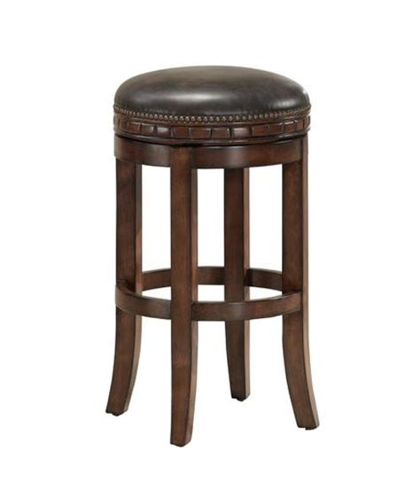 Menards Bar Stools ahb sonoma counter height suede backless swiveling stool at menards 174