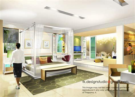 photoshop for interior design interior rendering by thapana kusirivatananukul at