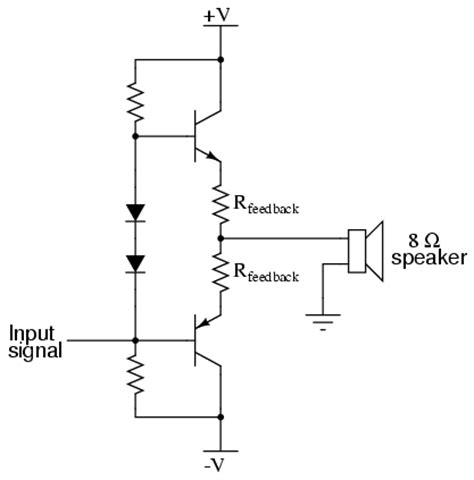 integrated circuit leg number class b audio lifier analog integrated circuits