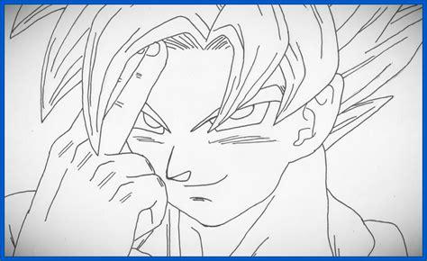 imagenes de goku fase 4 para dibujar fabulosas imagenes para dibujar de goku dibujos de