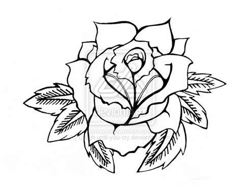 simple rose tattoo outline 25 best ideas about rose outline on pinterest simple