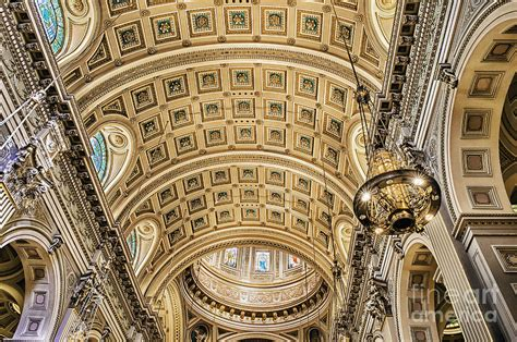 Cathedral Paintings Ceiling by Cathedral Ceiling Photograph By Greim