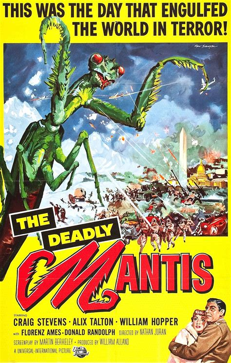 The Deadly the deadly mantis