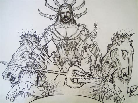 poseidon by pamanes14 on deviantart
