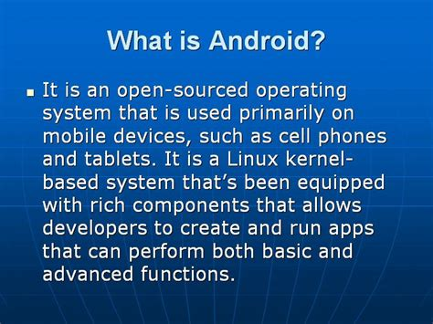 what is android most important android questions with answers testingbrain