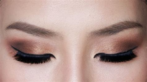 Eyeshadow Bronze easy bronze smokey eye makeup for hooded