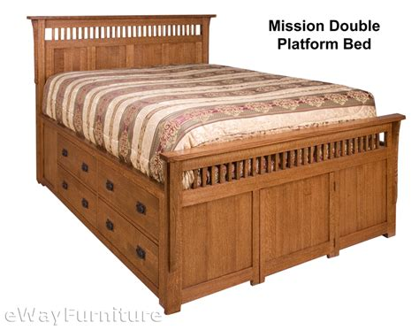 mission oak bedroom set rift and quarter sawn oak mission platform bed bedroom set