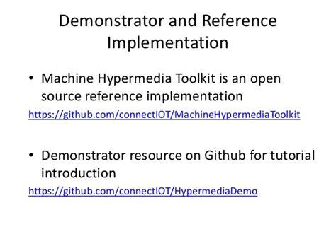 github tutorial slideshare research topics in machine hypermedia
