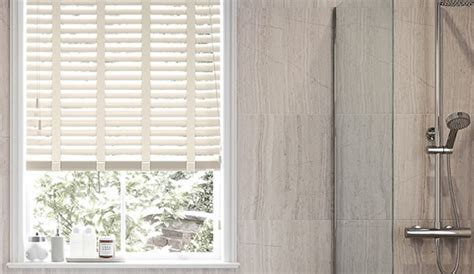 Bathroom Wooden Blinds Waterproof Bathroom Blinds 247blinds Co Uk