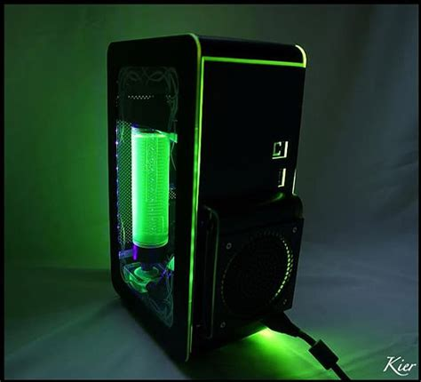 modded xbox 360 console green machine a xbox 360 console mod bit rebels