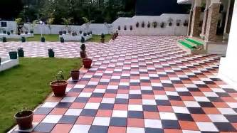 kerala home design tiles k c interlock paving tiles best in thrissur youtube