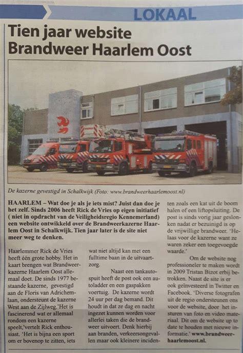 Hårtrender 2016 Höst by Tien Jaar Brandweer Haarlem Oost Nl Brandweerhaarlemoost Nl