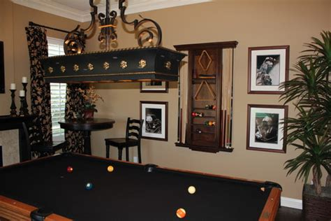 pool table room decor 15 homes with amazing pool tables that are anything but an eyesore photos huffpost