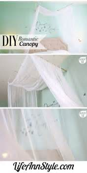 Draping A Tent Diy Romantic Bed Canopy Ann Le Style