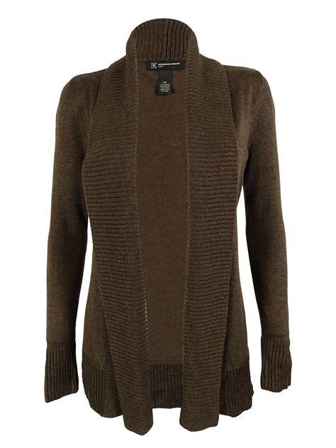 Sweater Cardigan Topi 2 inc s shawl collar ribbed trim cardigan sweater ebay