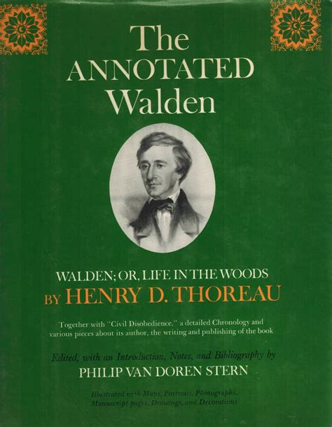 walden annotated book thoreau walden zvab