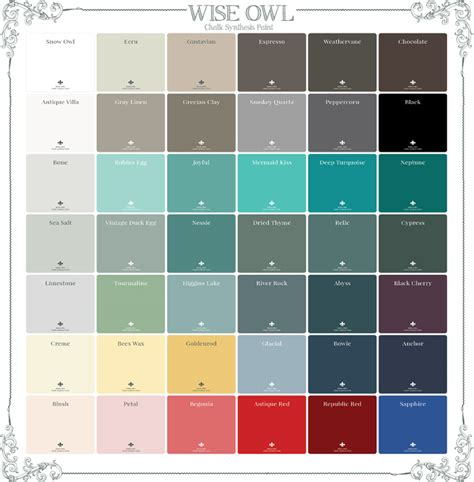 owl colors top trending furniture paint colors the wise owl s guide