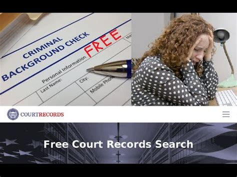 Check Felony Record Where Can Do Free Criminal Background Record Check