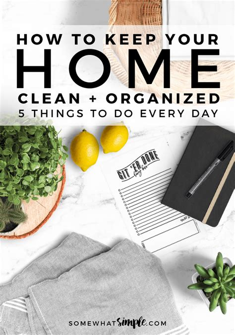 how to keep your house clean how to keep your house clean 5 things to do every day
