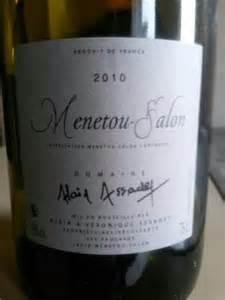 alain assadet menetou salon 2010 wine info