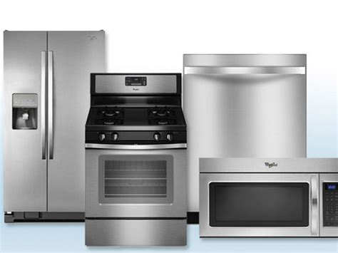 kitchen 4 piece kitchen appliance package stainless