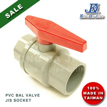 Kdj Taiwan Ballvalve 1 pvc valves jis 1 1 2 quot 2 quot plastic products plastic