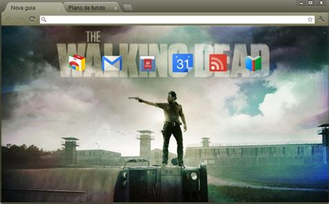 theme google chrome the walking dead 4web geek temas the walking dead para google chrome