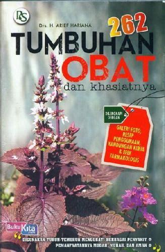 buku  tumbuhan obat  khasiatnya toko buku