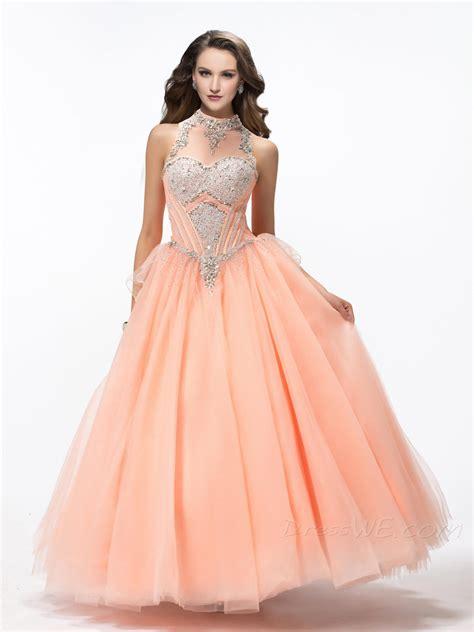 vestidos de xv rosados aquimodacom vestidos de boda vestidos vestidos de xv a 241 os con cuello alto