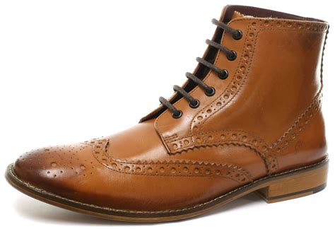 brogues boots brogues gatsby hi leather mens brogue boots all
