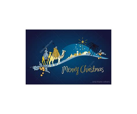 christmas card vectors  nice christmas card templates  motives seasons