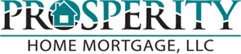 prosperity home mortgage llc